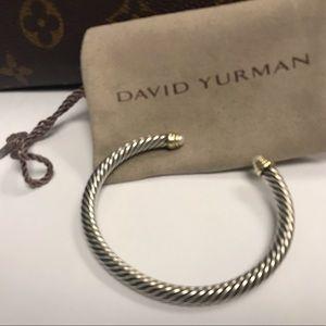 David yurman cable pearl stone ends bracelet